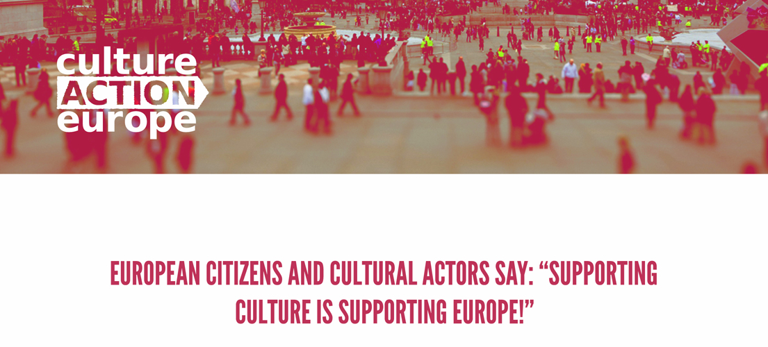 Creative Europe programme 2021-2027  Culture Action Europe (CAE